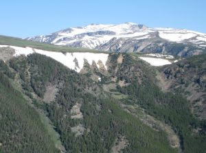 From the heights of Beartooth Pass
