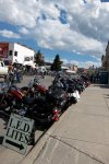 Tens of thousands of motorcyclists took to the same roads we travelled that weekend.